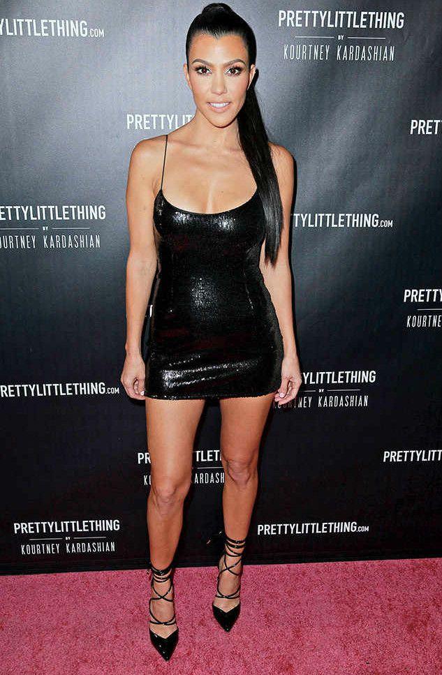 Kourtney Kardashian Height Weight