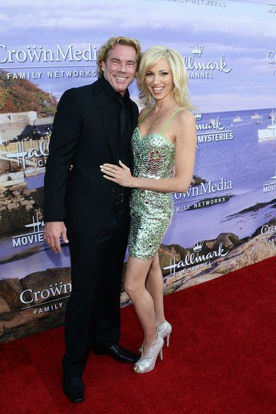 Debbie Gibson with her husband Rutledge Taylor
