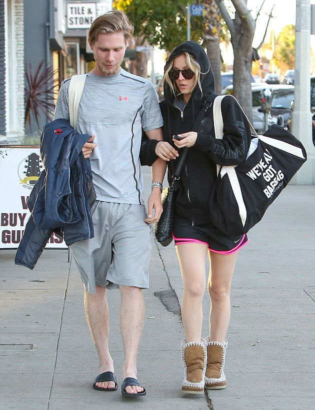 Kaley Cuoco and her husband Karl Cook
