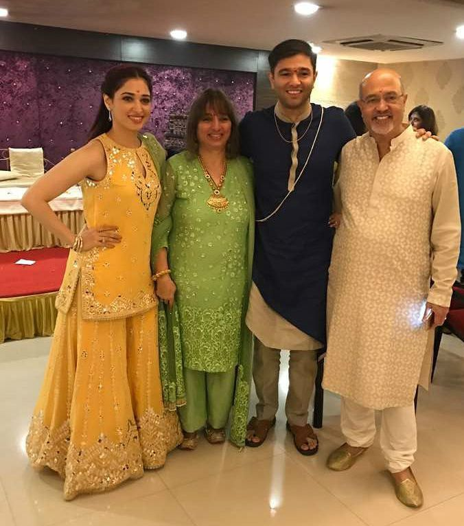 Tamannaah Bhatia Family
