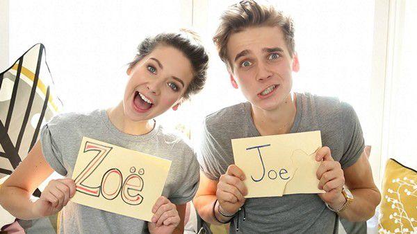 Joe Sugg and Zoe Sugg