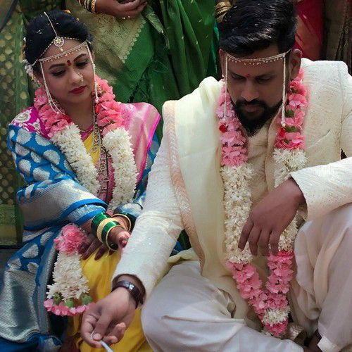 Prarthana Behere weds to Abhishek Bawkar