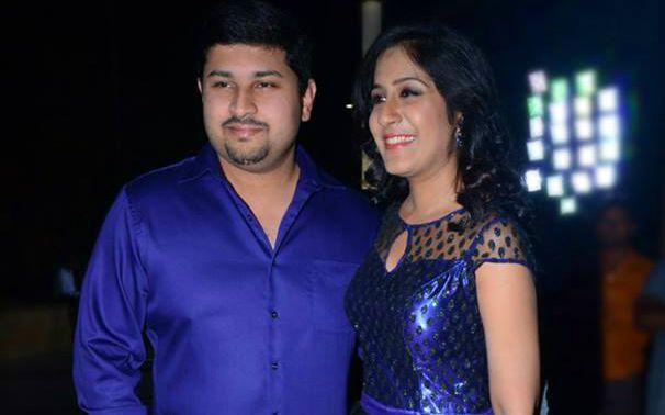 Shweta Mohan her husband Ashwin Shashi