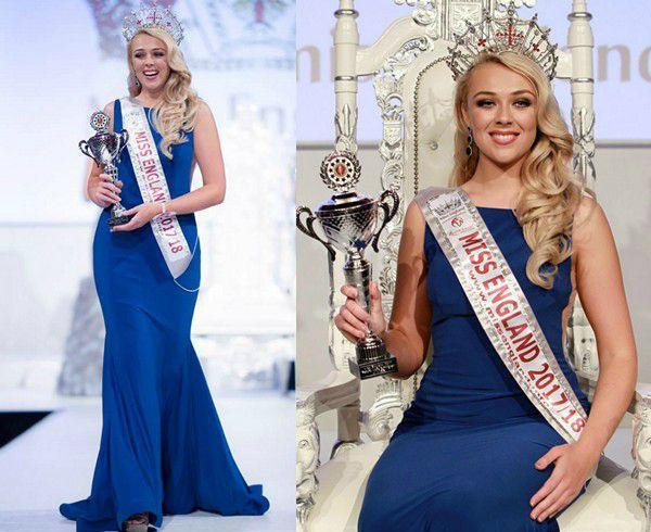Stephanie Hill Miss England 2017