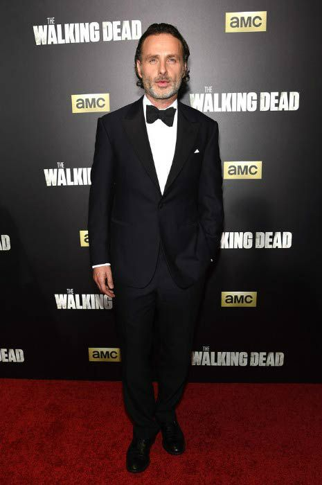 Andrew Lincoln The Walking Dead Premiere