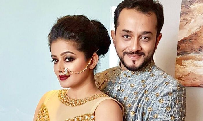 Priyamani and her husband Mustafa Raj
