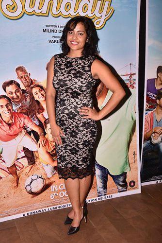 Shahana Goswami Height Weight Vital Stats