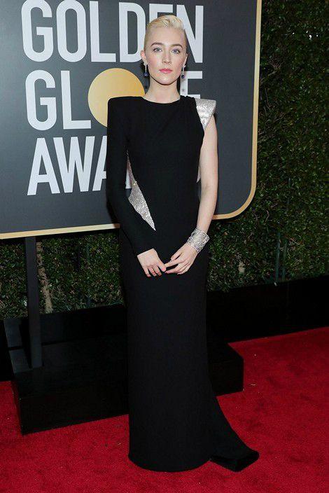 Saoirse Ronan at Golden Globe 2018