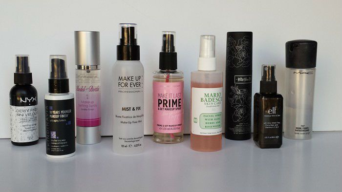 Best Makeup Setting Sprays That You Can Buy in 2018