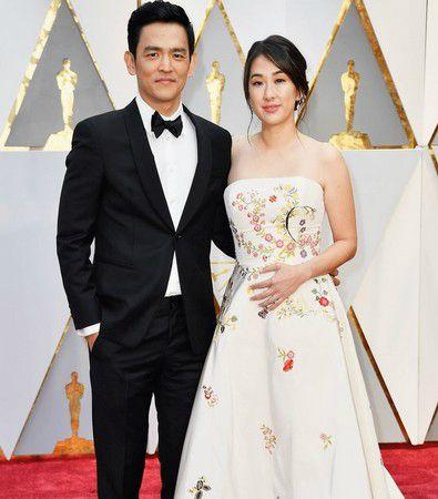 Jon Cho and his wife Kerri Higuchi