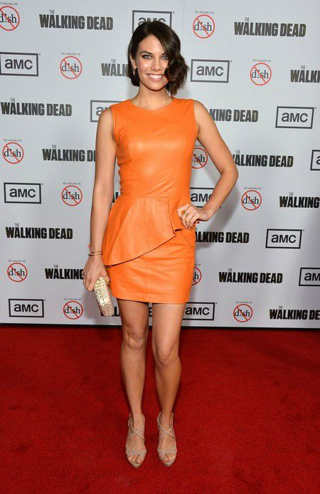 Lauren Cohan at The Walking Dead Season 3 Premiere