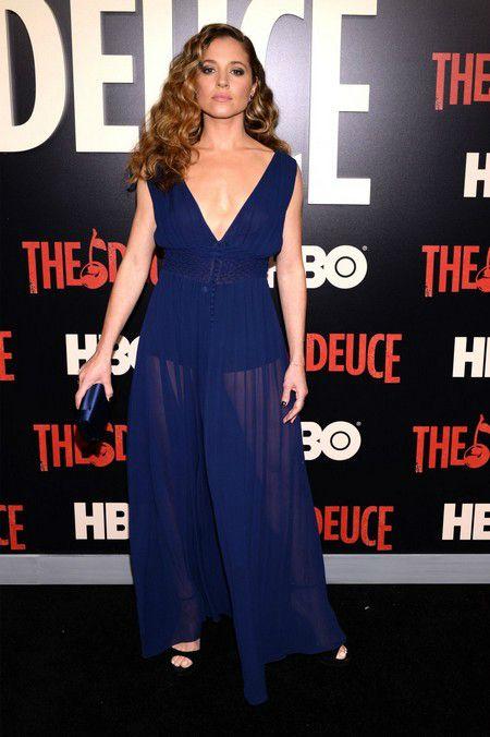 Margarita Levieva At The Deuce premiere in New York