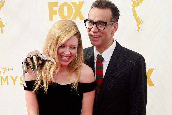 Natasha Lyonne with her partner Fred Armisen