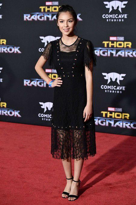 Olivia Rodrigo At Thor Ragnarok Premiere In Los Angeles 2017