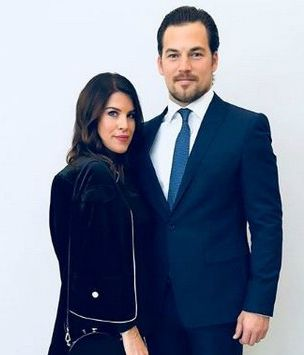 Giacomo Gianniotti and his wife Nichole Gustafson