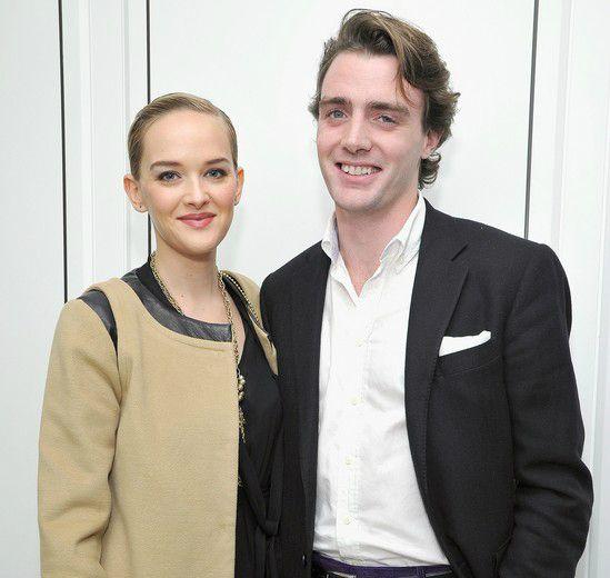 Jess Weixler and Hamish Brocklebank