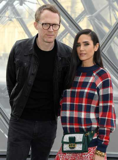 Jennifer Connelly with her husband Paul Bettany