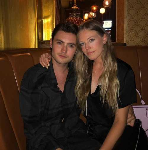 Spencer MacPherson with girlfriend Paige Exell